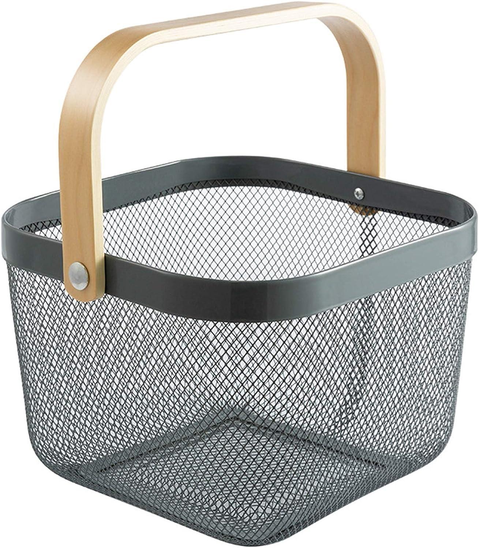 JZYZSNLB Fruit Basket Deluxe Storage Max 90% OFF Vegetable Ba Portable