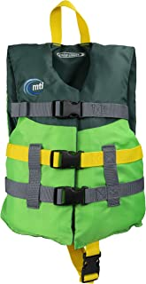 MTI Child Livery Life Jacket - Bright Green/Forest