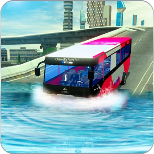 River Bus Simulator 2018: City Bus Transporter 3D | Public Transport Bus Driving | Tourist Bus Driver Game | Pick & Drop Passenger Simulador