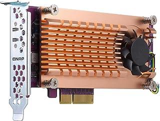 QNAP QM2-2P-384 Dual M.2 PCIe Solid State Drive Expansion Card