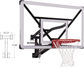 wall mounted basketball backboard and hoop