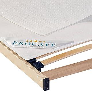 PROCAVE Ochraniacz na stelaż łóżka w różnych rozmiarach – Made in Germany | podkładka pod materac i ochraniacz na materac ...
