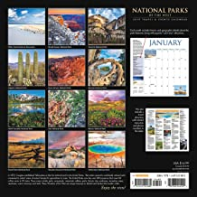 National Parks of the West 2019 Wall Calendar