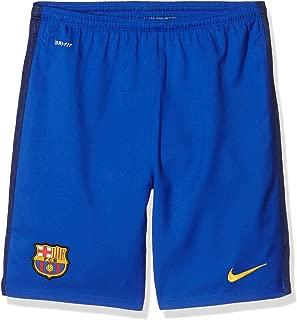 Nike 2015/16 Boys FC Barcelona Goalkeeper Stadium Soccer Shorts [Bright Blue]