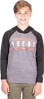 Ultra Game NFL Boys Moisture Wicking Athletic Performance Pullover Sweatshirt Hoodie
