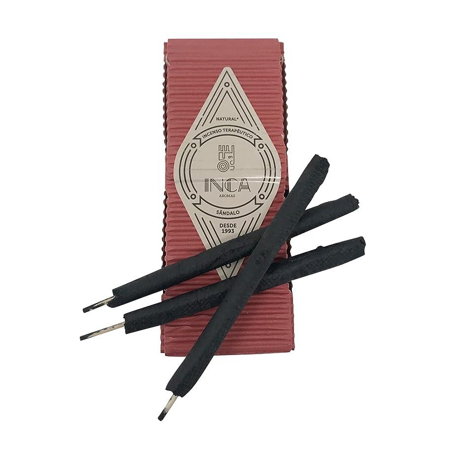 宣伝王朝変装新しいボックスの9プレミアムSandalwood Incense Sticks :手作り100?%ナチュラル、アーティザンand Therapeutic Incense Stickからのブラジルアマゾンフォレスト、経験正エネルギー& Harmony , Crafted by Inca