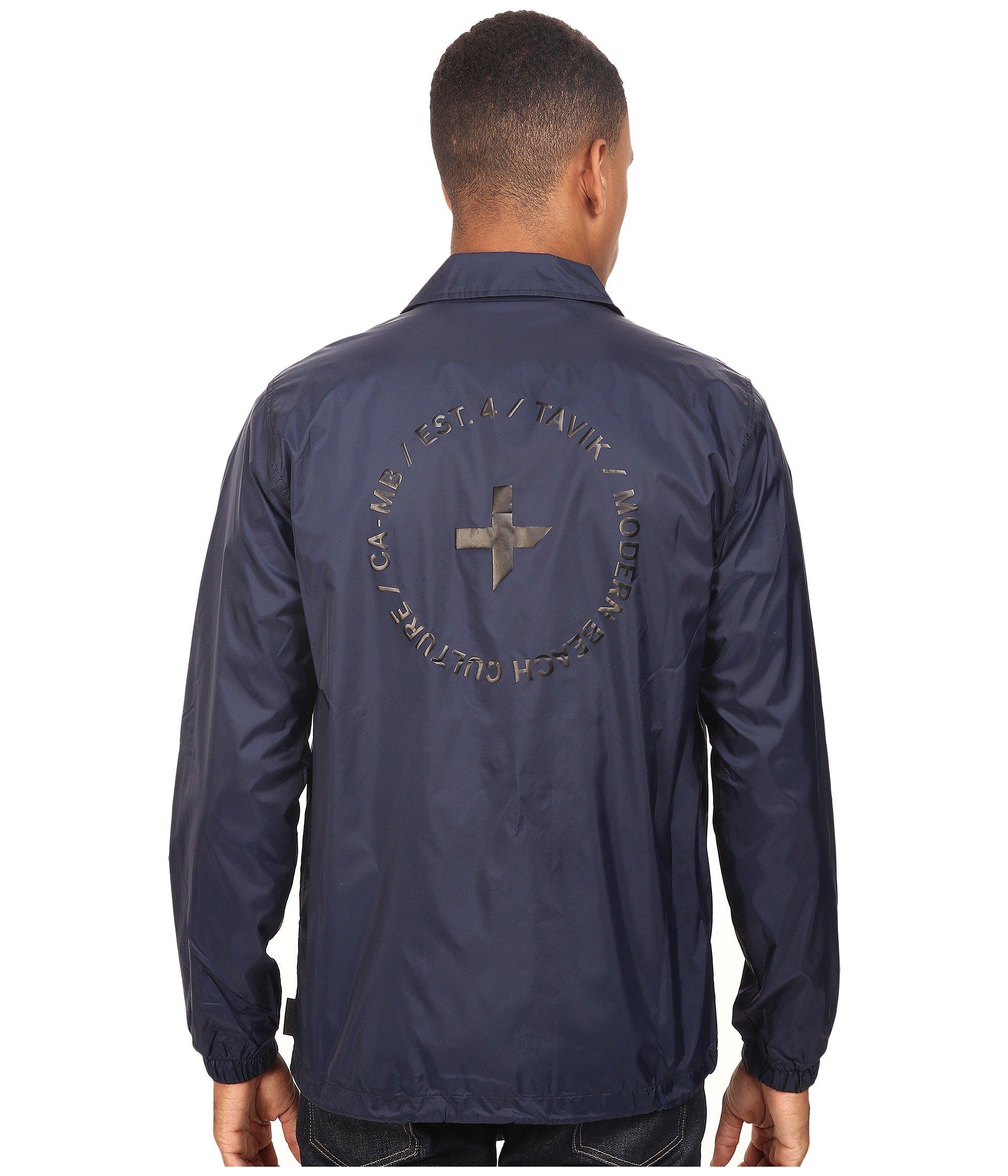 Tavik Tavik Crew Indigo Crew Jacket O4Uazxw