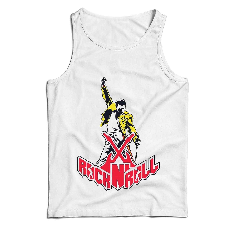 lepni.me 男性用ベスト ロックンロールは永遠に、ロックバンドのコンサート衣装