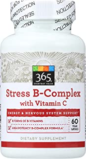 365 Everyday Value, Stress B Complex with Vitamin C, 60 ct