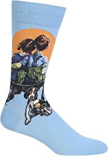Men's Norman Rockwell Collection Crew Socks