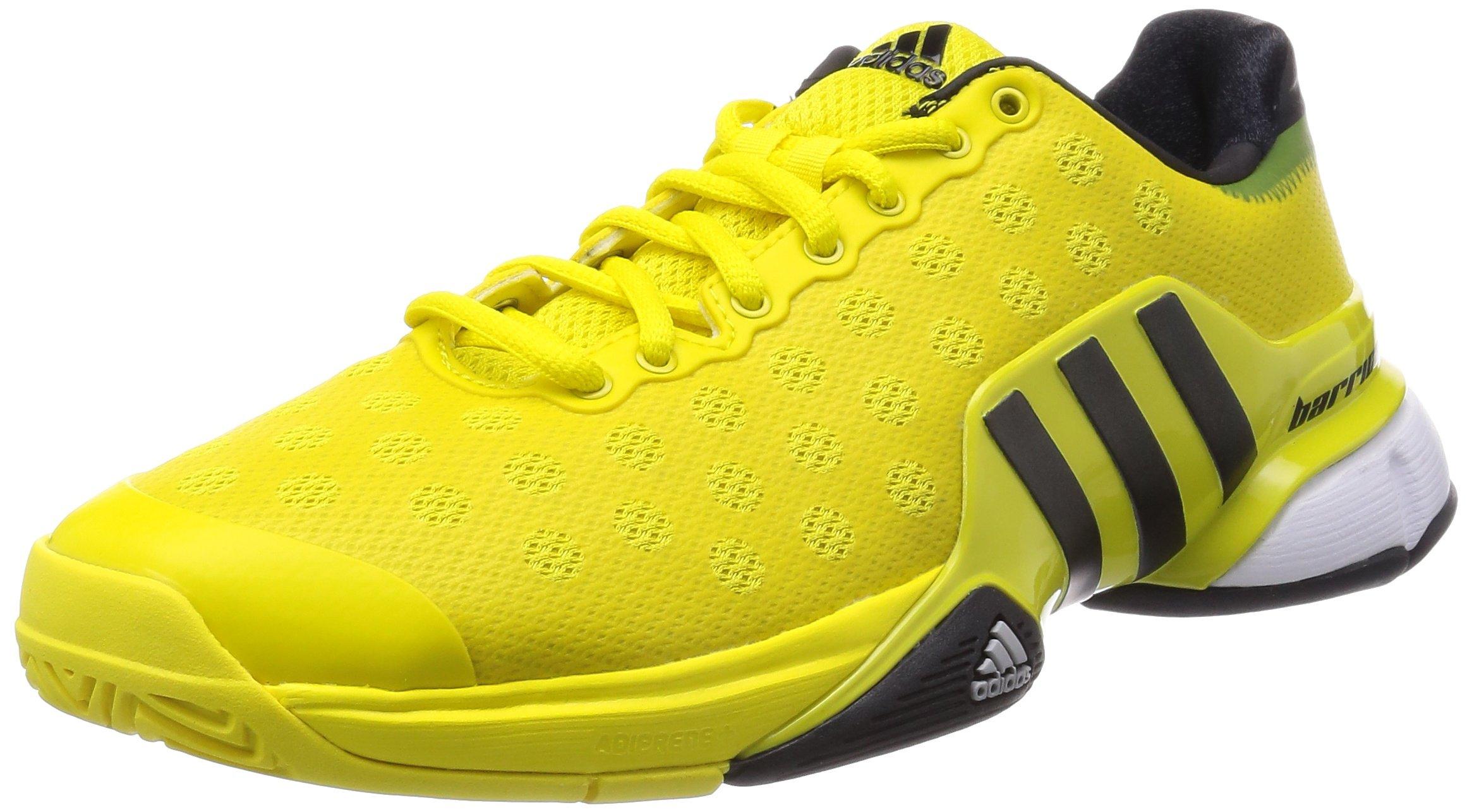 adidas Barricade 2015 – Zapatillas de Tenis – AW15, Color Negro, Talla 48 EU: Amazon.es: Zapatos y complementos