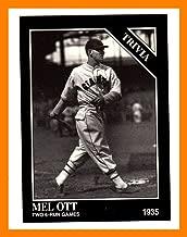 1994 Conlon TSN #1254 Mel Ott NEW YORK GIANTS