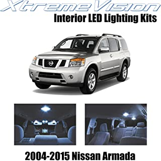 XtremeVision Interior LED for Nissan Armada 2004-2015 (16 Pieces) Cool White Interior LED Kit + Installation Tool
