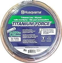 Husqvarna 639 00 51-13 TitaniumForce Trimmer Line - 1-Pound .080-Inch