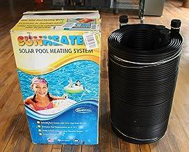Smartpool WWS421P Sunheater Solar Pool Heater for Above Ground Pools,Black