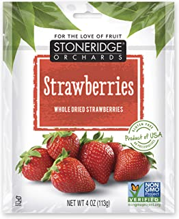 Stoneridge Orchards Whole Dried Strawberries 4 oz