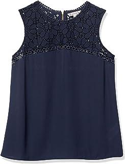 Nanette Nanette Lepore Women's Mixed Fabric, Top