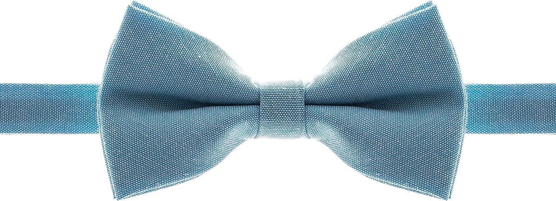 Man of Men - Pre-Tied Formal Max 81% Sales for sale OFF Bowtie Cotton Pastel Adjustable L