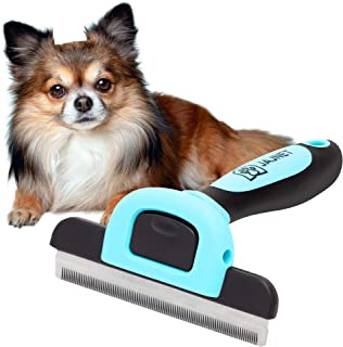 Dog Grooming Brush, Reduces up to 90% of Shedding Hair. This Dog Brush is Suitable as a Pet Deshedding Tool for Long, Medi...