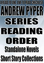 ANDREW PYPER: SERIES READING ORDER: A READ TO LIVE, LIVE TO READ CHECKLIST: