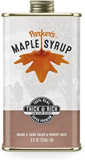 tin maple syrup containers