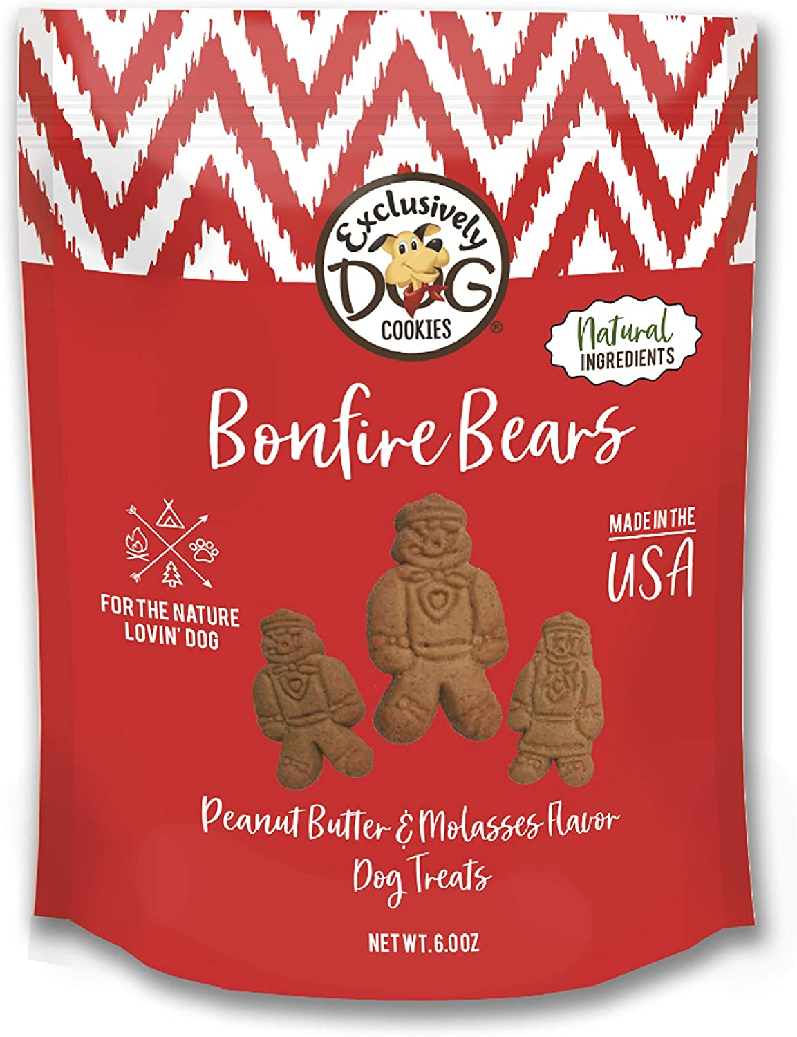 Exclusively Dog Cookies 4 years warranty Bonfire oz red 6 Classic Bears