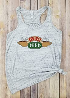 Central Perk COLOR - Racerback Tank, Friends Tv Show,Central Perk Coffee Shop Shirt, Friends Show Cafe Shirt, Popular Friends Shirt, Central Park Shirt.