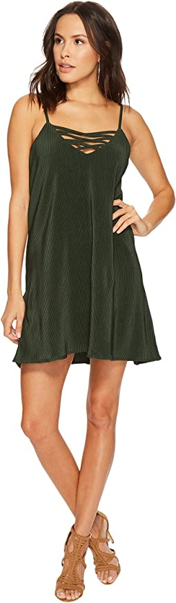 Radley Pleated Crisscross Front Dress