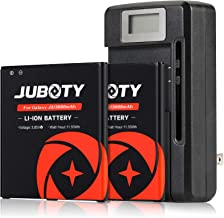 [Upgraded]Galaxy J3 Battery Replacement, JUBOTY 2 X 3000mAh Replacement With Charger for Galaxy J3 J327AZ J320V J320A J327R4 J320F J320P J327A J327P J327T J3 Pro EB-BG530BBC EB-BG530BBE/Galaxy On5 Bat