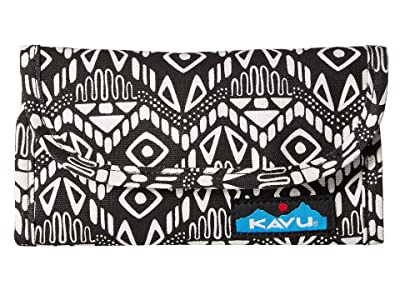 KAVU Big Spender (Black Batik) Wallet Handbags