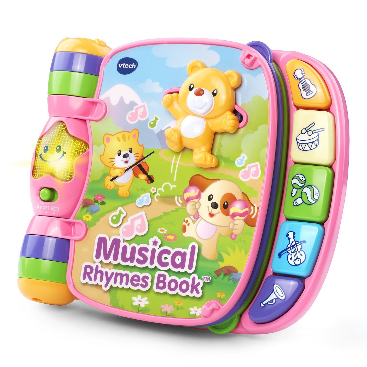 Learning toys - baby toys - toddler toys - kids toys - Musical Rhymes Book - girls toys - boy toy - toys for girls - toys for kids - baby toy