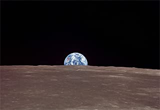 Earth From the Moon Hi Gloss Space Poster Fine Art Print