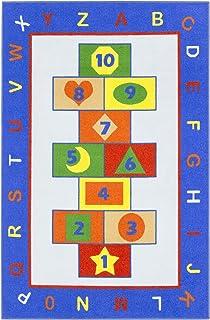 Antep Rugs Joyful Collection Alphabet Letters Hopscotch...