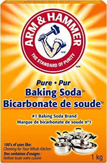 ARM & HAMMER Baking Soda, For Cleaning and Deodorizing, 1-kg