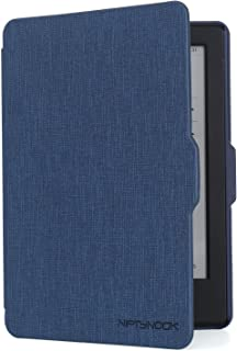 """NIFTYNOOK Case for Kindle E-Reader 6"""" Display only for 8th Generation Release Year 2016 w/Auto Sleep/Wake funtion in Dark Blue"""