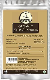 Naturevibe Botanicals Organic Kelp Granules, 1lb | Non-GMO and Gluten Free (16 ounces)
