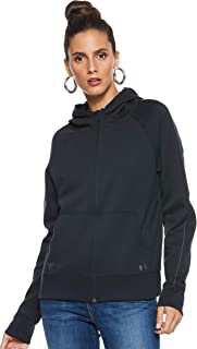 Under Armour Women's THE ROCK DOUBLE KNIT FZ Jacket