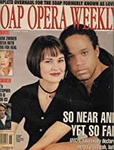 Sydney Penny & Keith Hamilton Cobb (All My Children) - June 27, 1995 Soap Opera Weekly