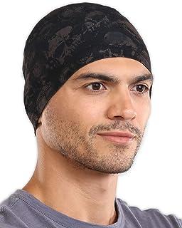 Cooling Skull Cap Helmet Liner for Men – Motorcycle, Cycling, Football Head Beanie..