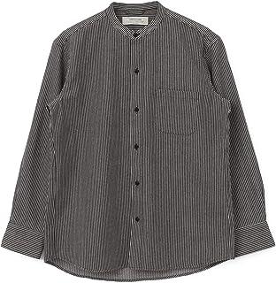 [サニーレーベル] ワイシャツ ワークバンドカラーシャツ メンズ LA04-13Y201