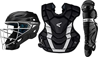 Easton Gametime Catchers Equipment Box Set   2020   Helmet   Chest Protector   Leg Guards   Baseball Softball   NOCSAE Approved for All Levels of Play