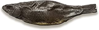 IronChoco Chocolate Fish Real Size Solid in Handmade Gift Box, Gourmet Funny Gift, Halloween gift, 5.6 oz