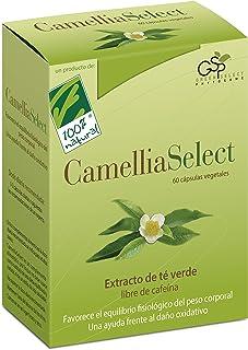 100% Natural CameliaSelect Complemento Alimenticio Te Verde. Vitamina C - 60 Cápsulas