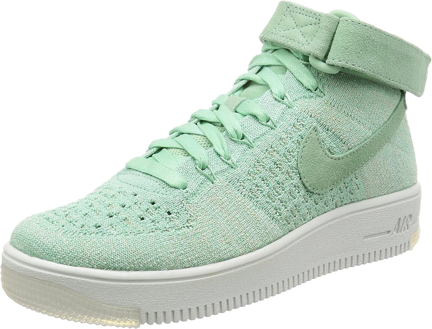 Nike Womens AF1 Air Force 1 Flyknit Hi Top Trainers 818018 Sneakers shoes