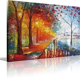 Eatco HD Art Romantic Gift Wooden Framed HD Prints on Canvas Art