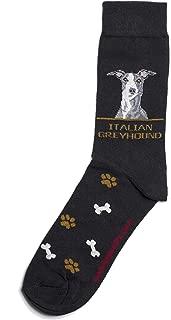Italian Greyhound Men Socks