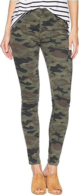 77d09f466d9 Hudson barbara high rise skinny jeans in german camo | Shipped Free ...