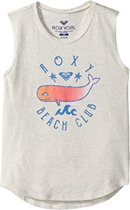 Roxy Beach Club Muscle Tank Top (Toddler/Little Kids/Big Kids)