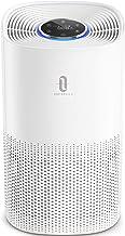 TaoTronics HEPA Air Purifier for Home, Pollen Smoke Allergens Dust Pets Dander Hair Eliminator for Large Room Bedroom Office Desktop, Air Quality Sensor, Auto Mode, Timer, 4 Displaying Colors