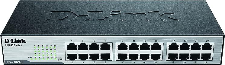 D-Link 24-Port 10/100 Unmanaged Desktop or Rackmount Switch (DES-1024D)